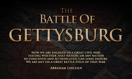 The Battle of Gettysburg Game Logo