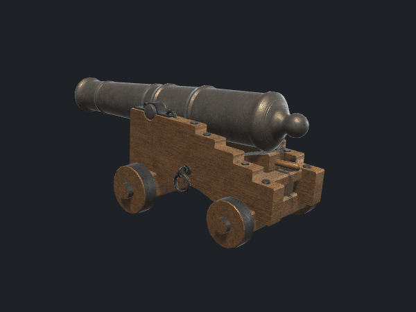 Free Cannon Game Model