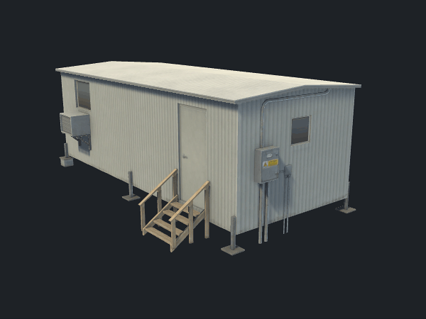 Free Communications Building Game Model