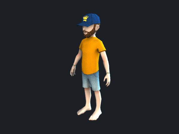 Free Low Poly Game Character